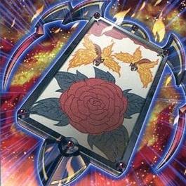 花札衛-牡丹に蝶-
