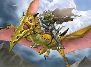 ドラコニアの翼竜騎兵